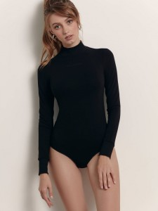 """Conte боди-водолазка с вышивкой """"Toujours"""" LBD 1384"""