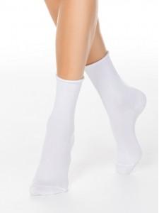 Conte 19С-101СП носки хлопковые гладкий верх без резинки