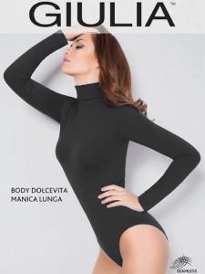 Giulia BODY DOLCEVITA MANICA LUNGA боди