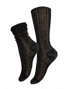 Mademoiselle Frida носки хлопок с люрексом