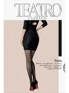 TEATRO PARIS колготки со швом и ажурными трусиками
